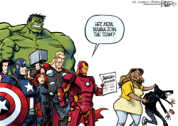 The Avengers  by Nate Beeler