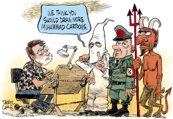 Draw More Muhammad Cartoons  by Daryl Cagle