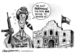 Texas conspiracy by Dave Granlund