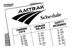 AMTRAK by Jimmy Margulies