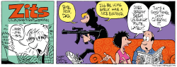 ISIS Zits Parody  by Daryl Cagle