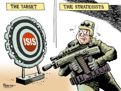 Strategy against ISIS by Paresh Nath