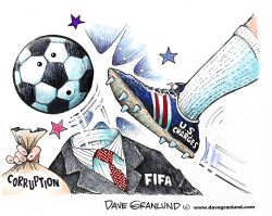 FIFA corruption charges by Dave Granlund