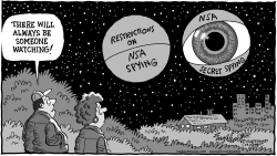 NSA Spying Restrictions by Bob Englehart