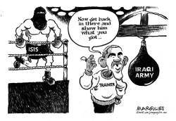ISIS and Iraqi Army by Jimmy Margulies