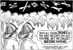 LOCAL-CA Wildfires and Drones by Wolverton
