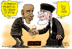Iran Deal   by Daryl Cagle