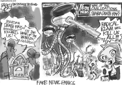 Fake News Panic by Pat Bagley