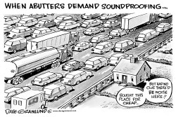 Highway noise soundproofing by Dave Granlund