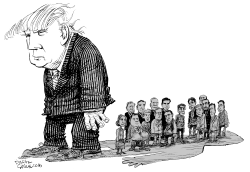 Trump Shadow by Daryl Cagle