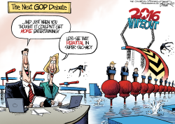 GOP Entertainment  by Nate Beeler