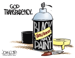 LOCAL NC -- GOP transparency  by John Cole