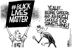 Black Lives Matter by Rick McKee