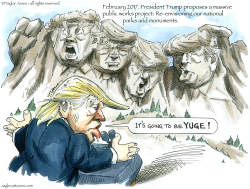 Mount Trumpmore -  by Taylor Jones