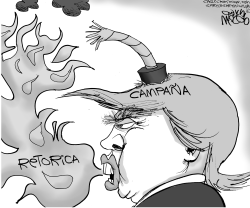 Trump auto-implosiona by Gary McCoy