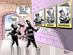 ISIS destroys history by Paresh Nath