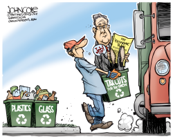 Recycled tax cuts  by John Cole