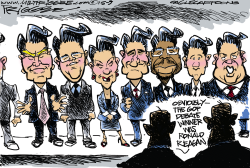 GOP Losers by Milt Priggee