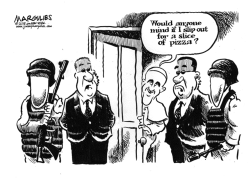 Security and Pope Francis visit by Jimmy Margulies