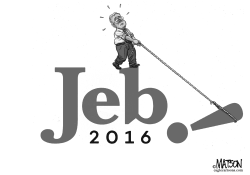 Heavy Lifting for Jeb Bush Campaign by RJ Matson