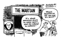 The Martian by Jimmy Margulies