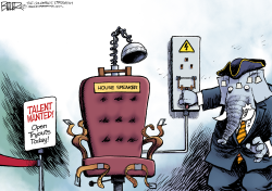 The Speaker Chair  by Nate Beeler