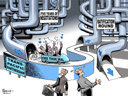 TPP free trade deal  by Paresh Nath