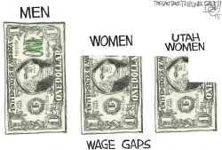 LOCAL Utah Pay Gap by Pat Bagley