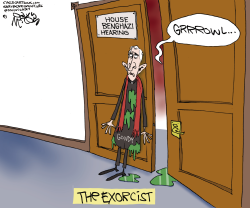 Benghazi Hearing Exorcist  by Gary McCoy
