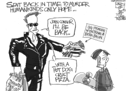 Processed Meat  by Pat Bagley
