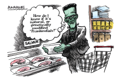 Frankenfish color by Jimmy Margulies