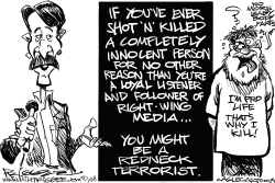 Planned Parenthood Shooting by Milt Priggee