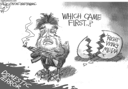 Domestic Terrorism  by Pat Bagley