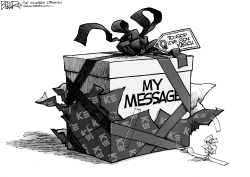 Kasich Christmas by Nate Beeler