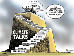Climate deal in Paris  by Paresh Nath