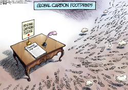 Carbon Footprints  by Nate Beeler