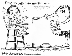 Shkreli fraud charges by Dave Granlund