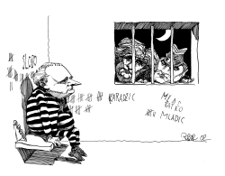 Milosevic Jailed in Haag by Riber Hansson