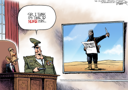 More ISIS Terror  by Nate Beeler