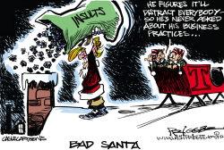 Bad Santa by Milt Priggee