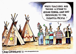 Ranchers protest Feds by Dave Granlund