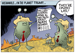 ON THE PLANET TRUMP,  by Randy Bish