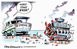 Wall St worst start by Dave Granlund