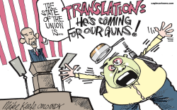 State of the Union  by Mike Keefe