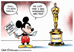 Oscars and diversity by Dave Granlund