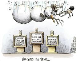 Weather coverage  by Adam Zyglis