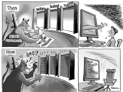 Blocking ISIS propaganda by Paresh Nath