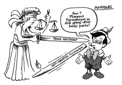 Planned Parenthood foes indicted by Jimmy Margulies