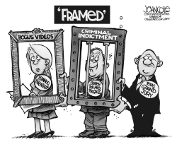 Planned Parenthood framed BW by John Cole