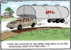 China Sucks Up Oil by Bob Englehart